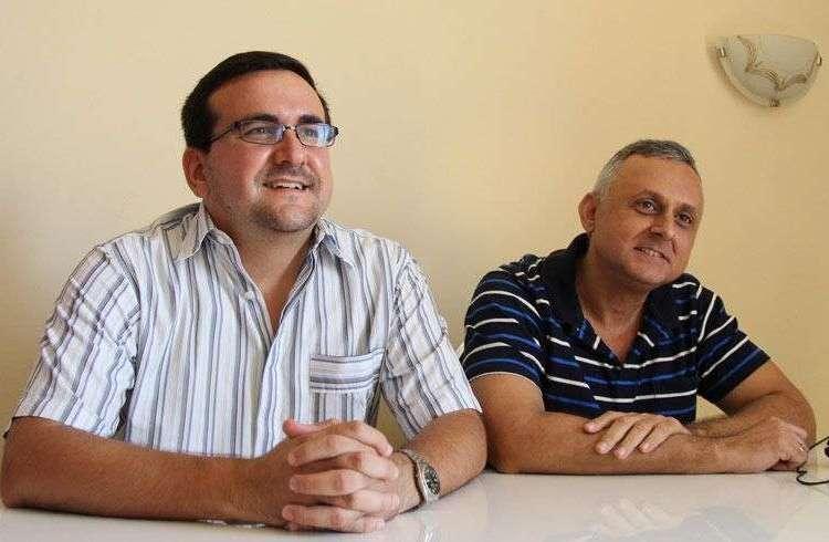 Lenier González y Roberto Veiga / Foto: Roberto Ruiz.