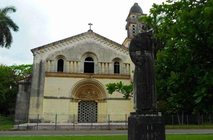 Capilla de la antigua Universidad Santo Tomás de Villanueva, en La Habana, devuelta el pasado octubre a la Iglesia católica.