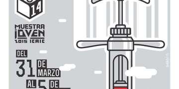 Cartel Oficial de la Muestra de Jóvenes Realizadores