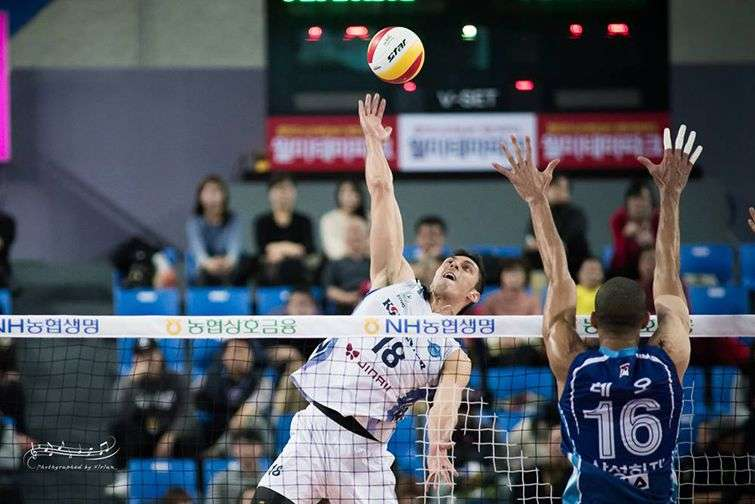 Michael Sanchez is the only volleyball player in history who has scored 31 points in a set.