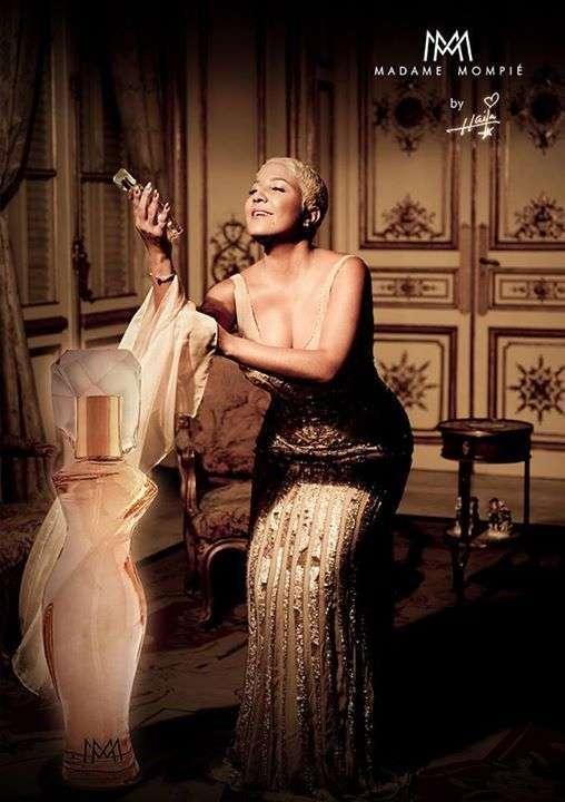 Foto publicitaria de Madame Mompié