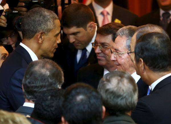 The presidents of Cuba and the United States were the ones who best represente the spirit of their countries' civil societies.