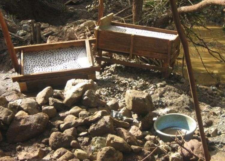 Instrumentos de minería ilegal de oro incautados en operativo policial en Holguín. Foto: Juventud Rebelde