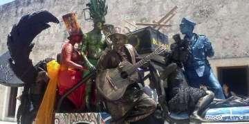 Mutación Forzada, obra de Alberto Lezcay en la Bienal de La Habana / Foto cortesía de Patricia Alonso Galbán