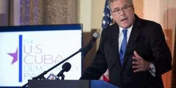 El candidato Jeb Bush. Foto: J Pat Carter/AP