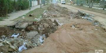 Calle 32 hacia Real, Cojímar. Foto: Arturo Arango
