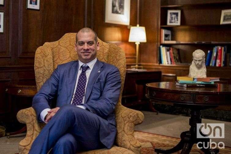 Daniel Sepúlveda, subsecretario adjunto de Estado y coordinador para la Política Internacional de las Comunicaciones y la Información de los Estados Unidos. Foto: Alain L. Gutiérrez Almeida