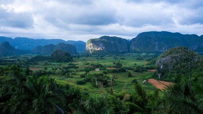 El valle de Viñales, en la provincia cubana de Pinar del Río. Foto: Archivo.