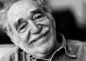 Gabriel García Márquez con Julio García Espinosa y Fidel Castro. Foto: Centro Harry Ransom.