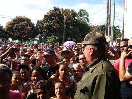 Las autoridades debieron explicar a la población de Santa Clara en audiencia pública los resultados de su labor.