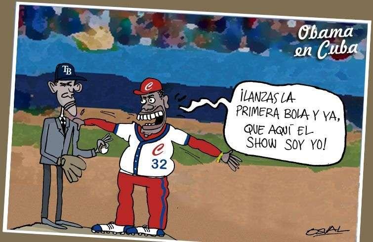 Obama y victor en el Latino