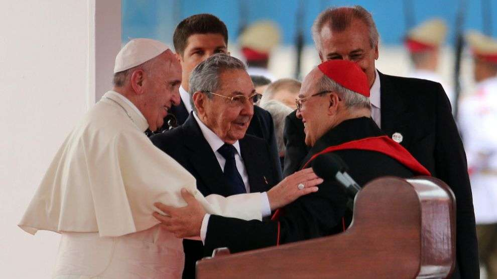 Jaime Ortega, el cardenal del deshielo Foto: EFE