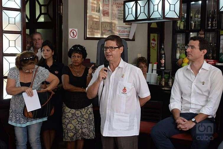 Sergio Valdés, director de exportaciones de Havana Club. Foto: Alain L. Gutiérrez