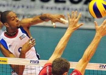 El equipo de voleibol masculino defenderá a Cuba en los deportes colectivos.
