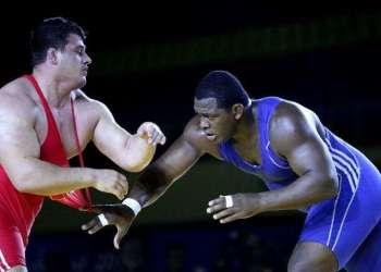 Mijaín López, líder absoluto de la lucha cubana, tiene un plan especial de entrenamiento de cara a los Juegos Olímpicos de Tokio. Foto: Archivo de Oncuba