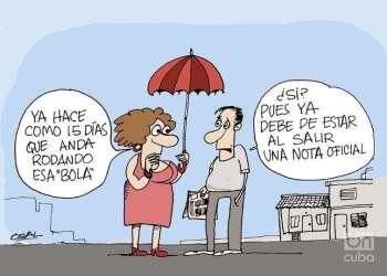 Caricatura: Osval