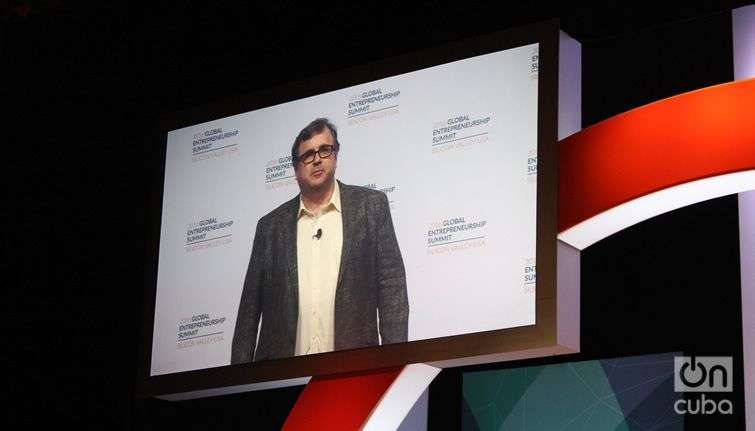 Reid Hoffman, presidente ejecutivo y co-fundador de Linkedin.