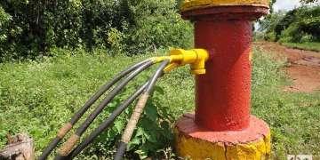 Pozo de gas en Motembo. Foto: Maykel González Vivero