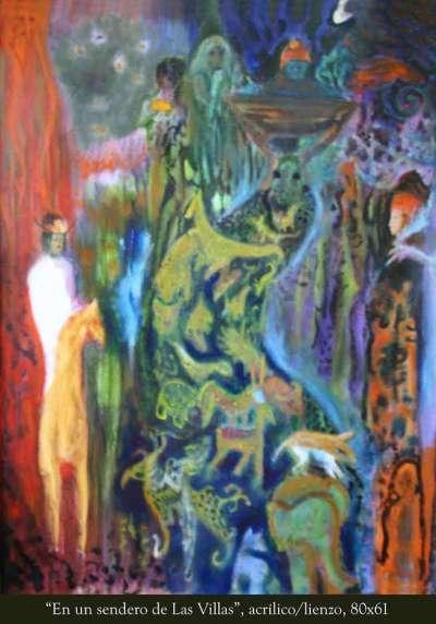 """""""En un sendero de las Villas"""", de José Adrián Vitier."""