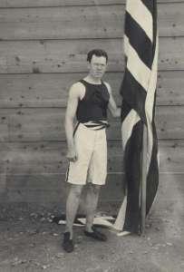 ames Brendan Connolly en los primeros Juegos Olímpicos de la Era Moderna. Atenas, 1896.
