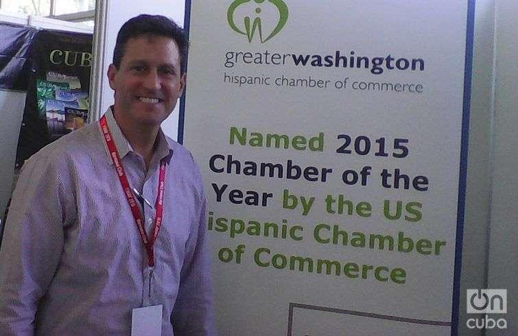 Alfredo Castas, presidente de la junta de directores de la Gran Cámara Hispana de Comercio de Washington. Foto: Yelanys Hernández Fusté