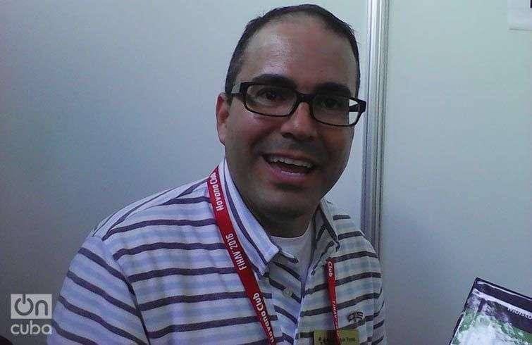 Melvin Torres, director de Comercio Internacional para Latinoamérica de World Trade Center en Arkansas. Foto: Yelanys Hernández Fusté