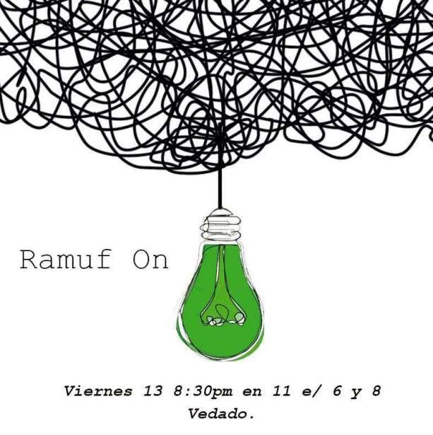"""""""Ramuf"""" en la Casa de la Bombilla verde."""