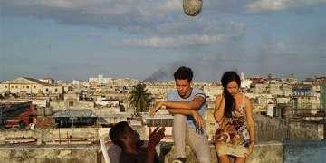 """Grabación de """"El techo"""". Foto: Juventud Rebelde (cortesía de Patricia Ramos)."""