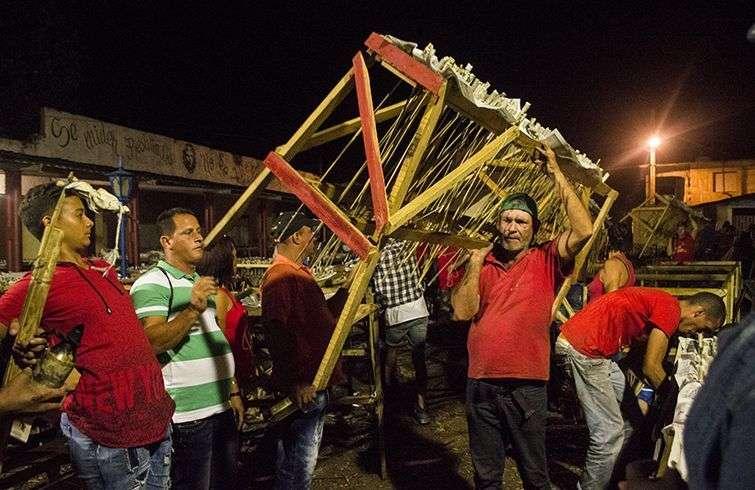Parrandas de Remedios. Foto: Yariel Valdés.