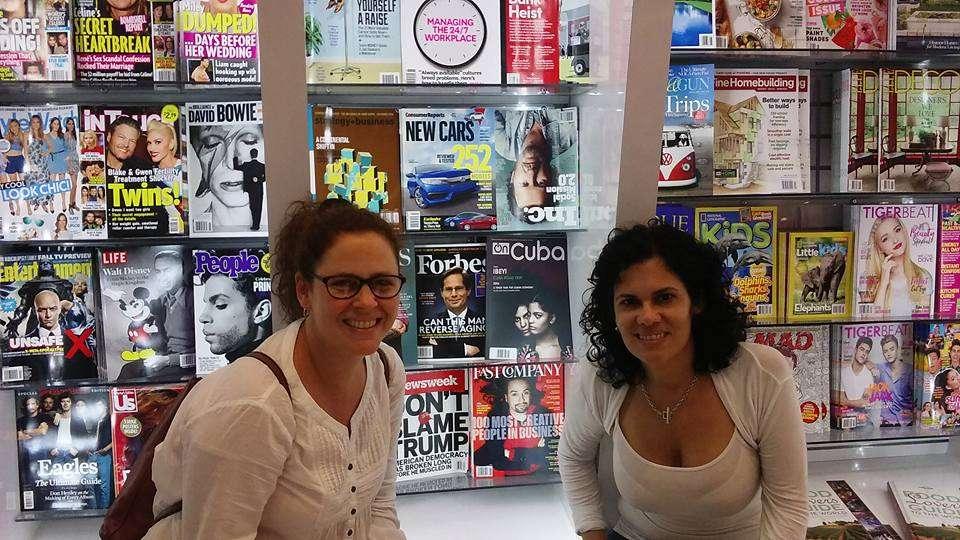 Milena Recio, Co-editor Web and Tahimí Arboleya, Printed Magazine Editor in Miami