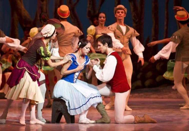 Escenas de Giselle por el Ballet Nacional de Cuba. Foto tomada de Penultimosdias.com.