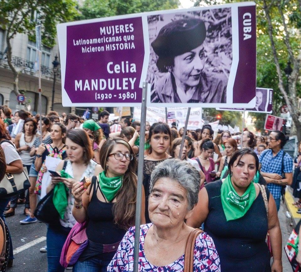 Paro Nacional de Mujeres en Argentina este 8 de marzo. Foto: Kaloian.