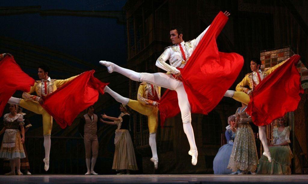 Don Quixote by Cuban National Ballet. Photo taken from Penultimosdias.com.