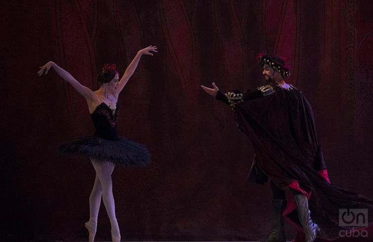 The Swan Lake by Cuban National Ballet. Photo taken from Penultimosdias.com.
