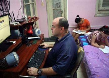 Usuario de Nauta Hogar. Foto: www.granma.cu