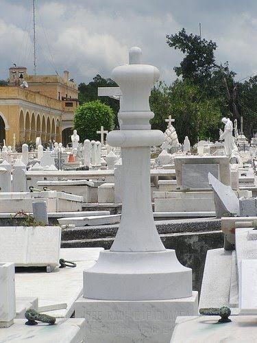 Capablanca's tomb. Photo: César O. Gómez / panoramio.com