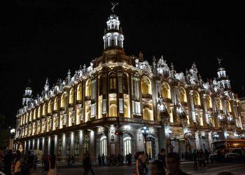 """Gran Teatro de La Habana """"Alicia Alonso"""". Foto: Marcelino Vázquez Hernández/ACN."""