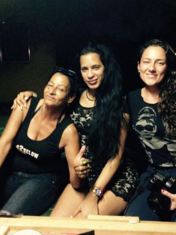 """""""Las tres mosqueteras juntas al fin"""": Liset Barrios en su página de Facebook al publicar esta foto donde está con Marta Amaro y Lisette Poole. Septiembre de 2016."""