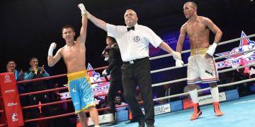 La victoria de Olzhas Bainiyazov sobre Frank Zaldívar le dio a los kazajos su tercer título en Series Mundiales. Foto: World Series Boxing.