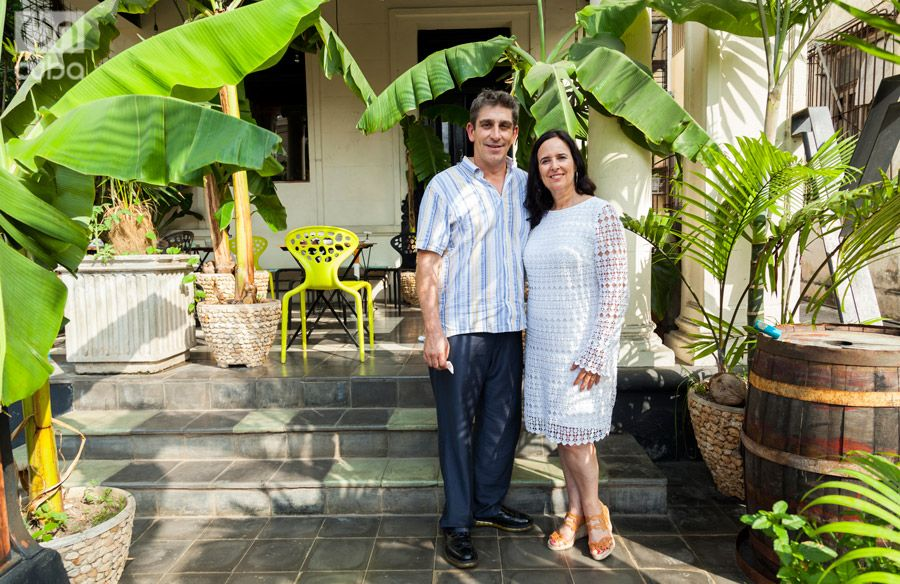 Richard Blanco and Ruth Behar came heading a CubaOne Foundation cultural trip. Photo: Claudio Pelaez Sordo.