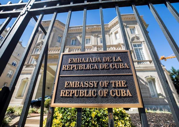 Embajada de Cuba en EE.UU. Foto: EFE / Archivo.