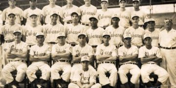 Los Cuban Sugar Kings Triple AAA Baseball Club en 1959. Foto: mopupduty.com.
