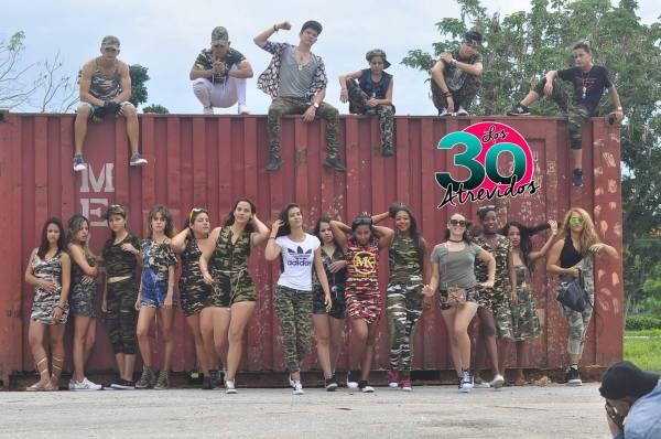 Los 30 atrevidos.