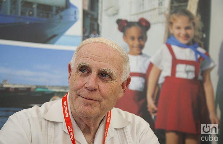 Jay S. Brickman, vice president of government services at Crowley Maritime Corporation. Photo: Claudio Peláez Sordo.