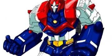 Voltus V, personaje creado por el japonés Tadao Nagahama.