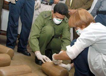 Incautación de drogas en Cuba. Foto: La Demajagua / Archivo.