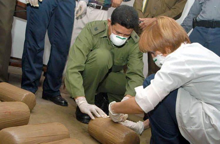 Más de 4,7 toneladas de droga fueron incautadas en Cuba hasta el mes de octubre. Foto: La Demajagua.