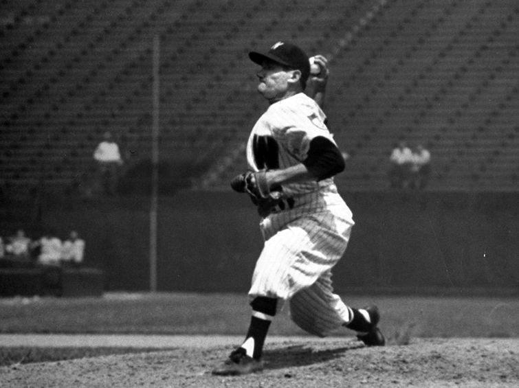 """Conrado """"Connie"""" Marrero en las Grandes Ligas. Foto: Al Fenn/Time Life Pictures/Getty Images."""