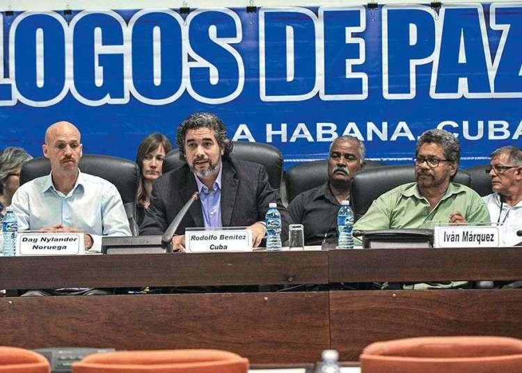 Diálogos de paz en La Habana. Foto: Foto: AFP.