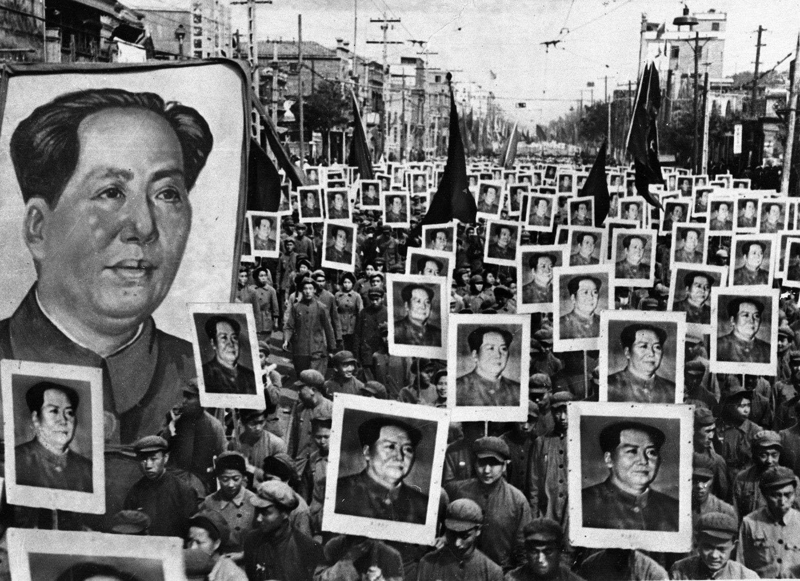 La China de Mao. Foto: AP.